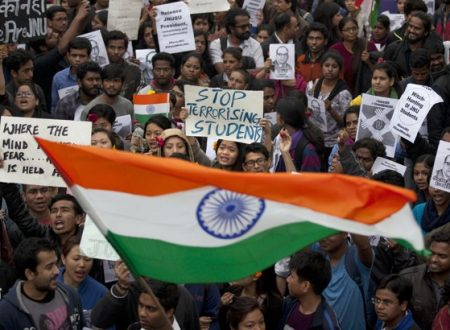 """JNU students repression and the shame of the worst face of """"Hindutva"""""""