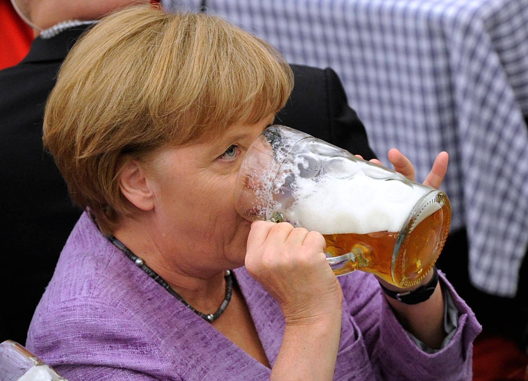 lapresse - marino - Angela Merkel