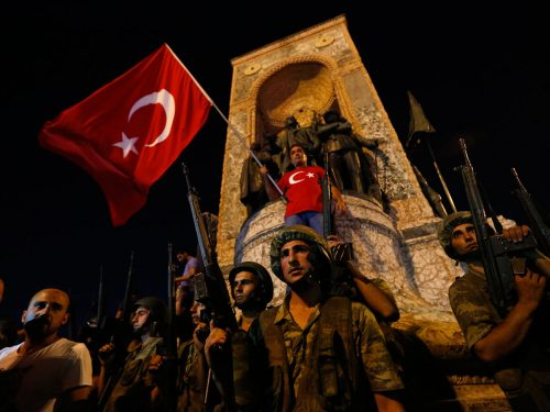 Turkey coup attempt captured in dramatic images