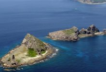 Japan protests Chinese vessels near disputed islands