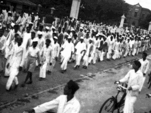 """A tribute to role of women in the """"Quit India"""" movement"""