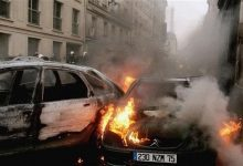 """French Muslims """"celebrated"""" New Year with at least 1,000 cars torched"""