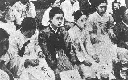 S Korean monk critical after sex slavery deal protest
