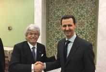 Senator Razzi meets Assad at the head of a Russian-European delegation
