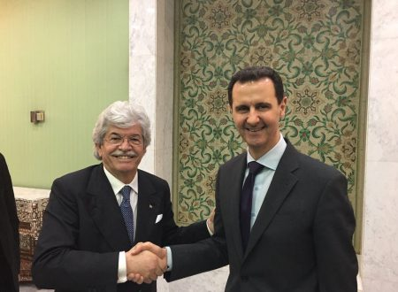 Senator Razzi meets Assad at the head of a Russian-European delegation