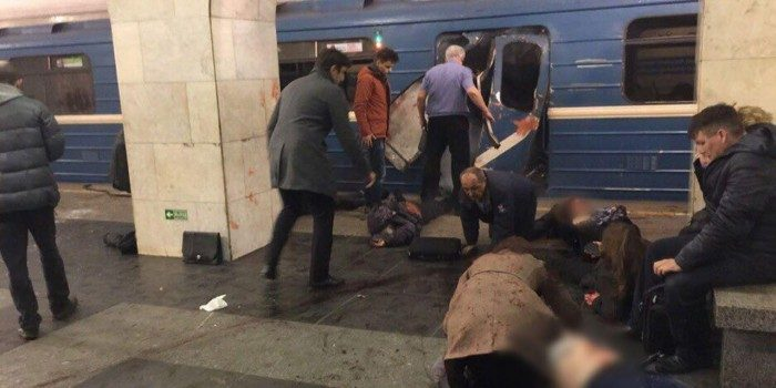 "Explosions in St. Petersburg: ""Terror attack on the subway"""