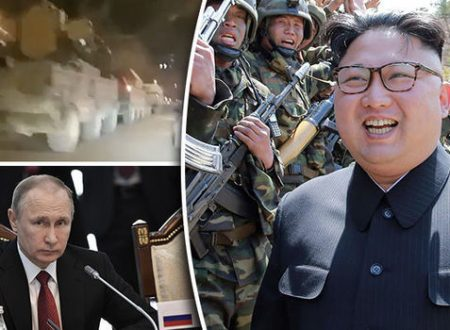 Putin deploys army to North Korea border in readiness for World War 3
