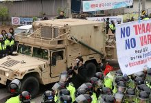 South Korea deploys parts of US missile system against North Korea