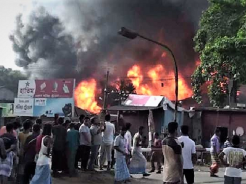 Denmark expresses concern over violence in Bangladesh
