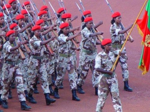Being a Girl Soldier in Eritrea