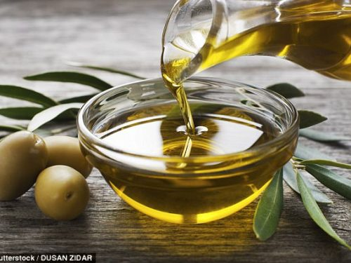 Posted a photo of extra VIRGIN olive oil: assaulted by fellow believer