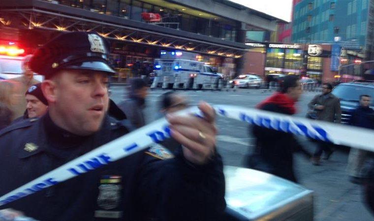 "NYC enjoying ""peace and tolerance"""
