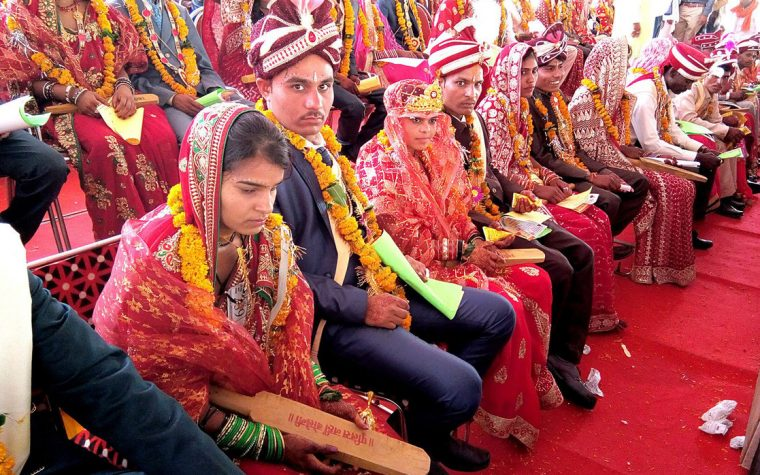 India: Disguises as a man and marries two girls to get the dowry