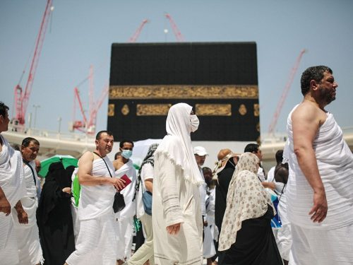 "Women reveal the sexual harassment they face on Mecca pilgrimage (""Hajj"")"