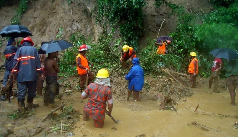 Censured by Facebook: At least 133 dead in Chittagong Hills Tract landslides