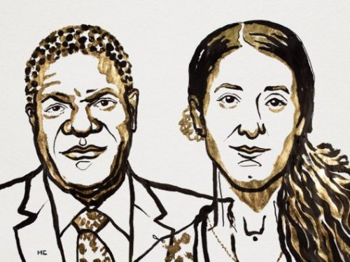 Nobel Peace Prize Laureates Acknowledge Sexual Violence as War Tool in Minorities Persecution