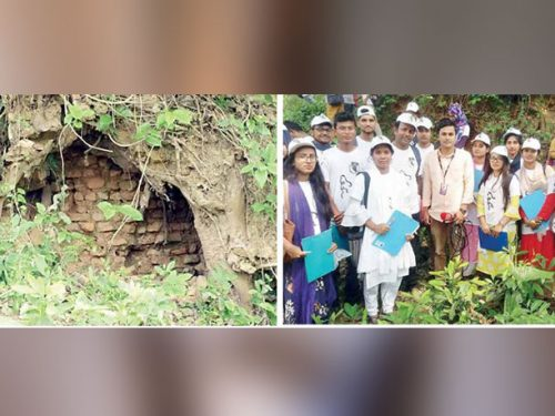 Rabindra University archaeologists found 'King Virat Palace' in Sirajganj