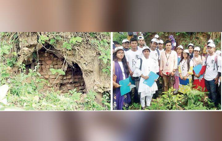 Rabindra University archaeologists found 'King Virat Palace' in Sirajganj