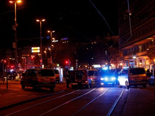 BREAKING: Religion of Peace in action in Vienna synagogue attack